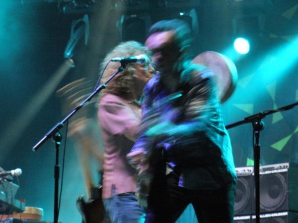 Robert Plant et Justin Adams